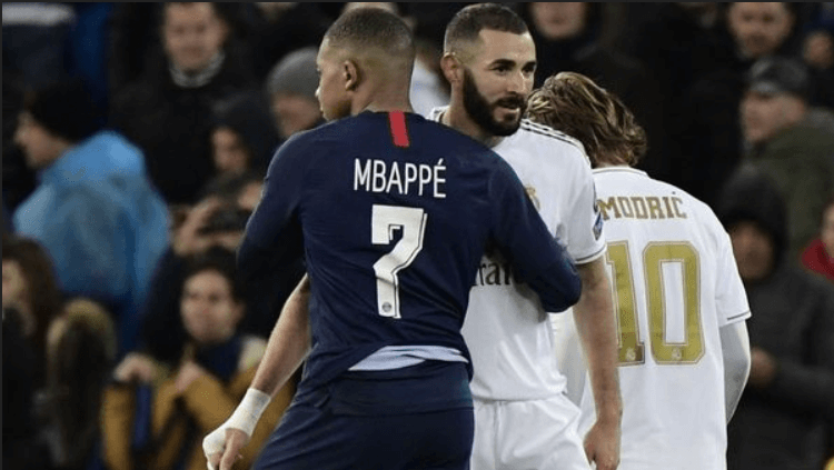 Benzema and Mbappe