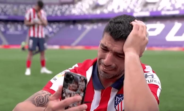 Suarez tears