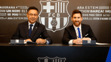 Messi sign
