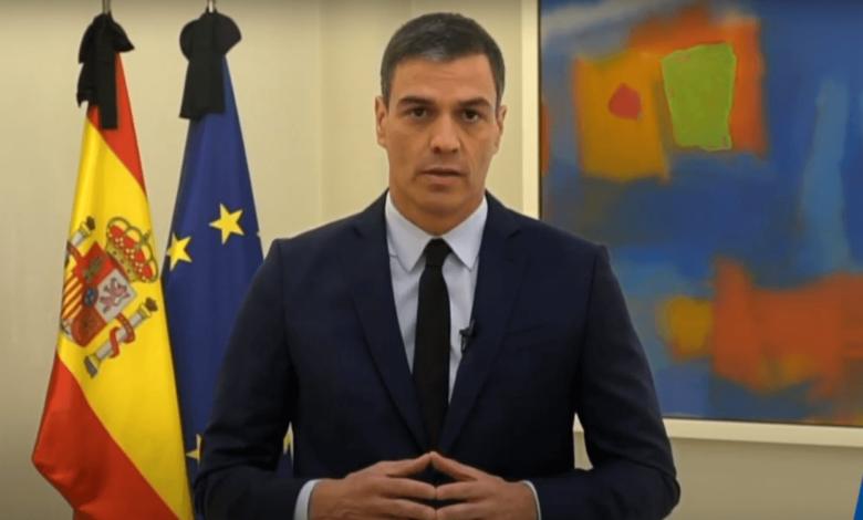 Minister Pedro Sanchez