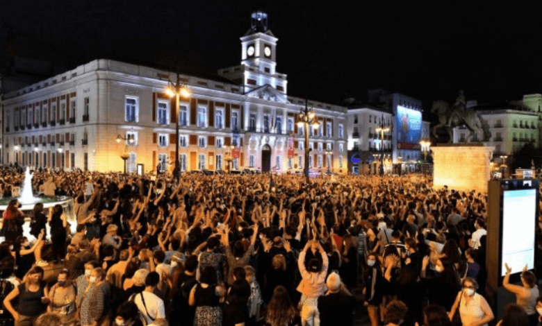 Protest spain