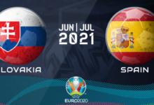 Slovakia vs Spain Euro 2020