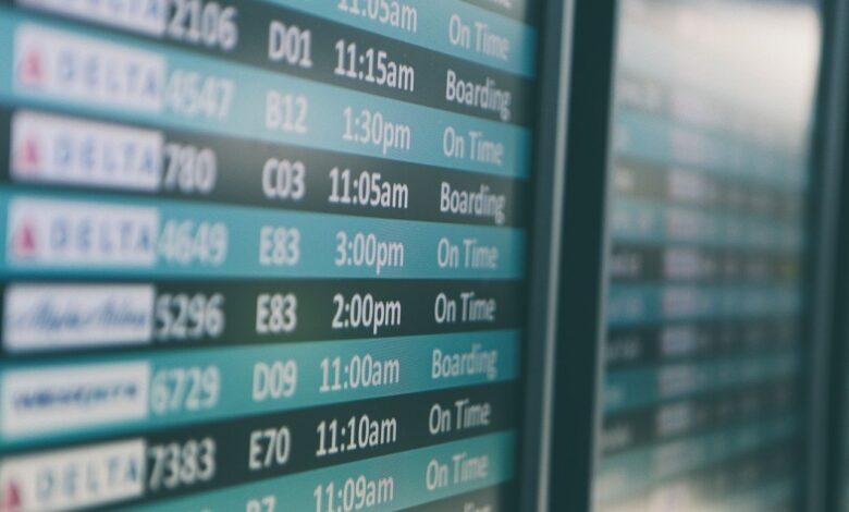 airport travel flight