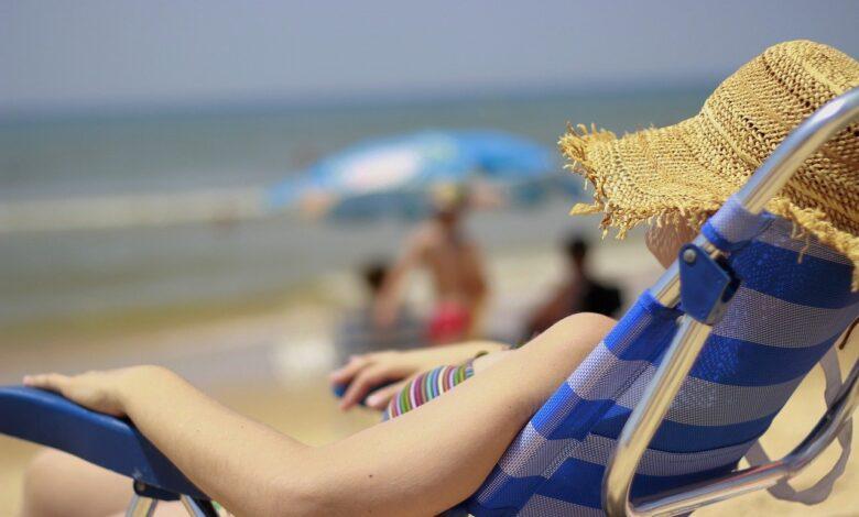 spain beach hot